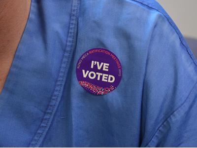I've voted