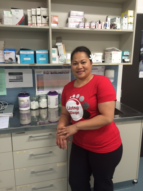 Litia Gibson works at Porirua Union and Community Health Service