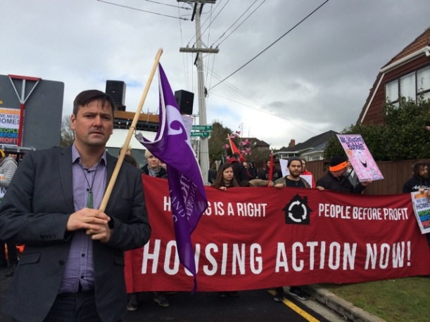 Housing protest Grant